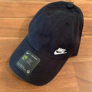 NWT Nike HERITAGE86 Womens Swoosh Hat AO8662-010